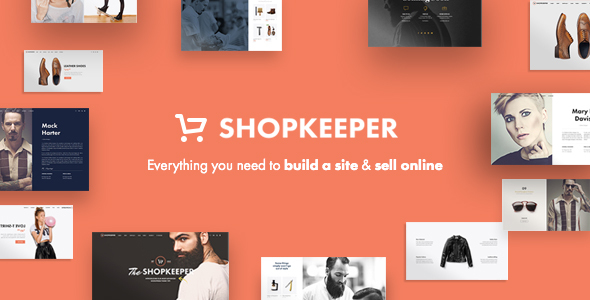 Shopkeeper wordpress theme + RTL