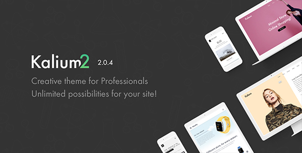 Kalium wordpress theme + RTL
