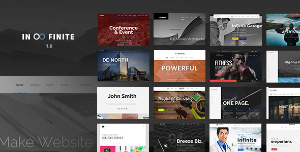 Infinite WordPress Theme + RTL
